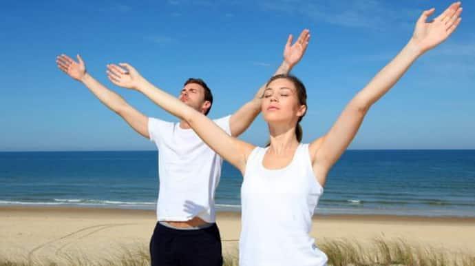 В чем принцип дыхательной гимнастики при всд