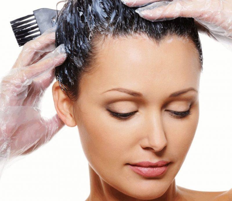 Окрашивание волос при ГВ