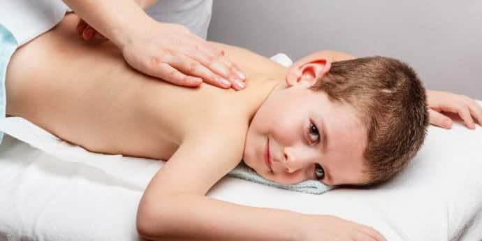Массаж при реабилитации детей с дцп