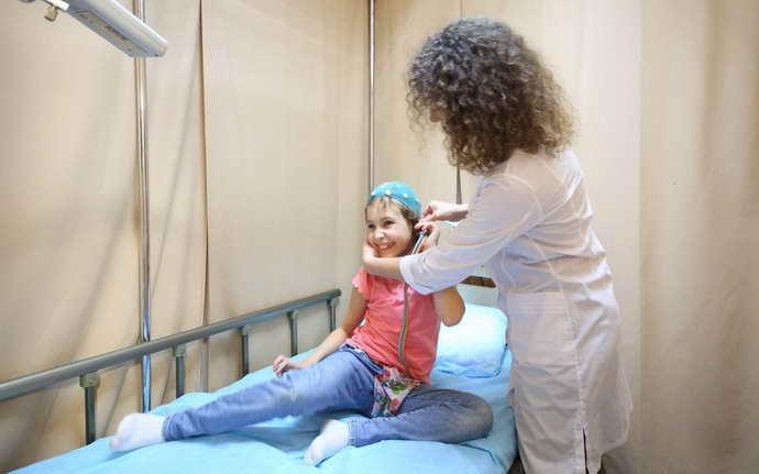 ЭЭГ ребенку проводится в несколько этапов