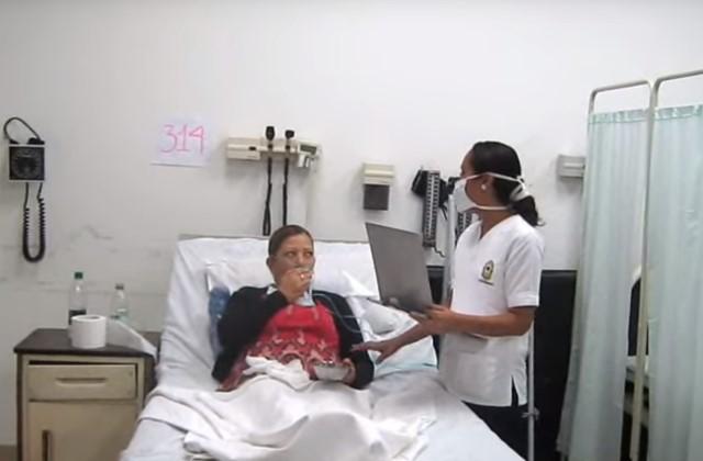 При сильном выделении крови во время кашля необходимо срочно обратиться к врачу