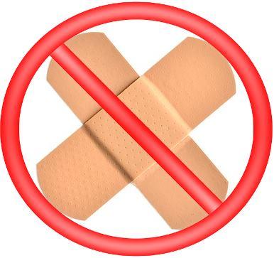 Нельзя заклеивать место введения пробы Манту пластырем