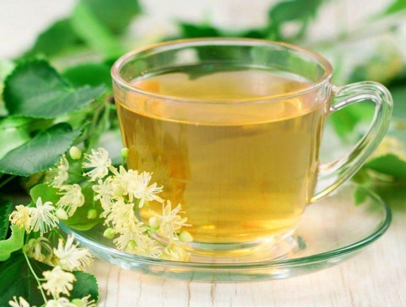 Липовый чай при гв