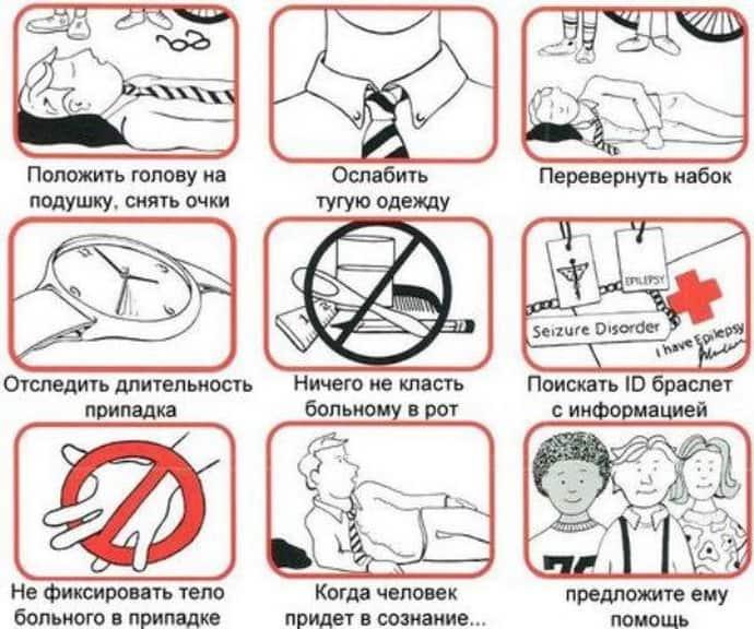 Как порочь при судорожном синдроме