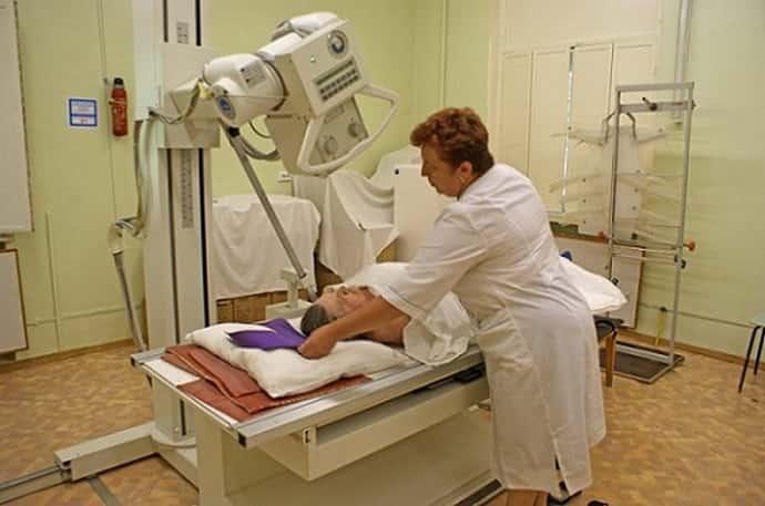 Ренгенография при нейропатии