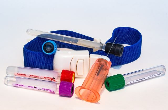 Медицинский инструмент для забора крови из вены