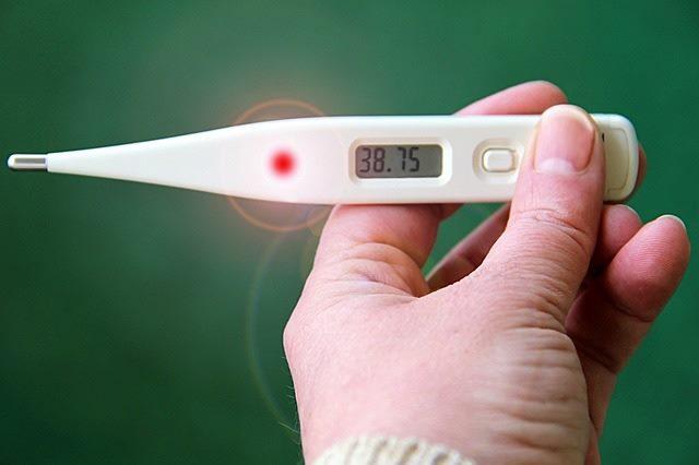 Повышенная температура признак болезни