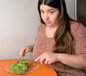 Правильное питание при нарушении метаболизма