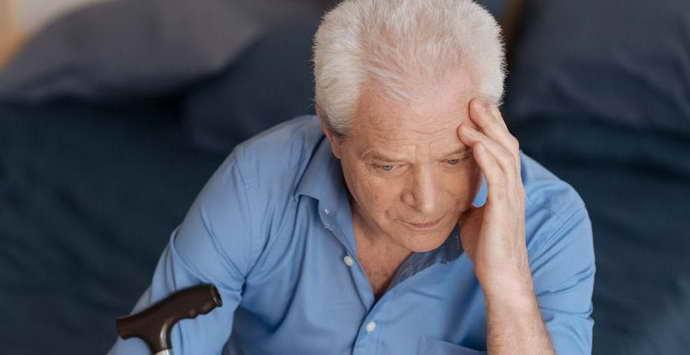 Внезапная амнезия к пожилых