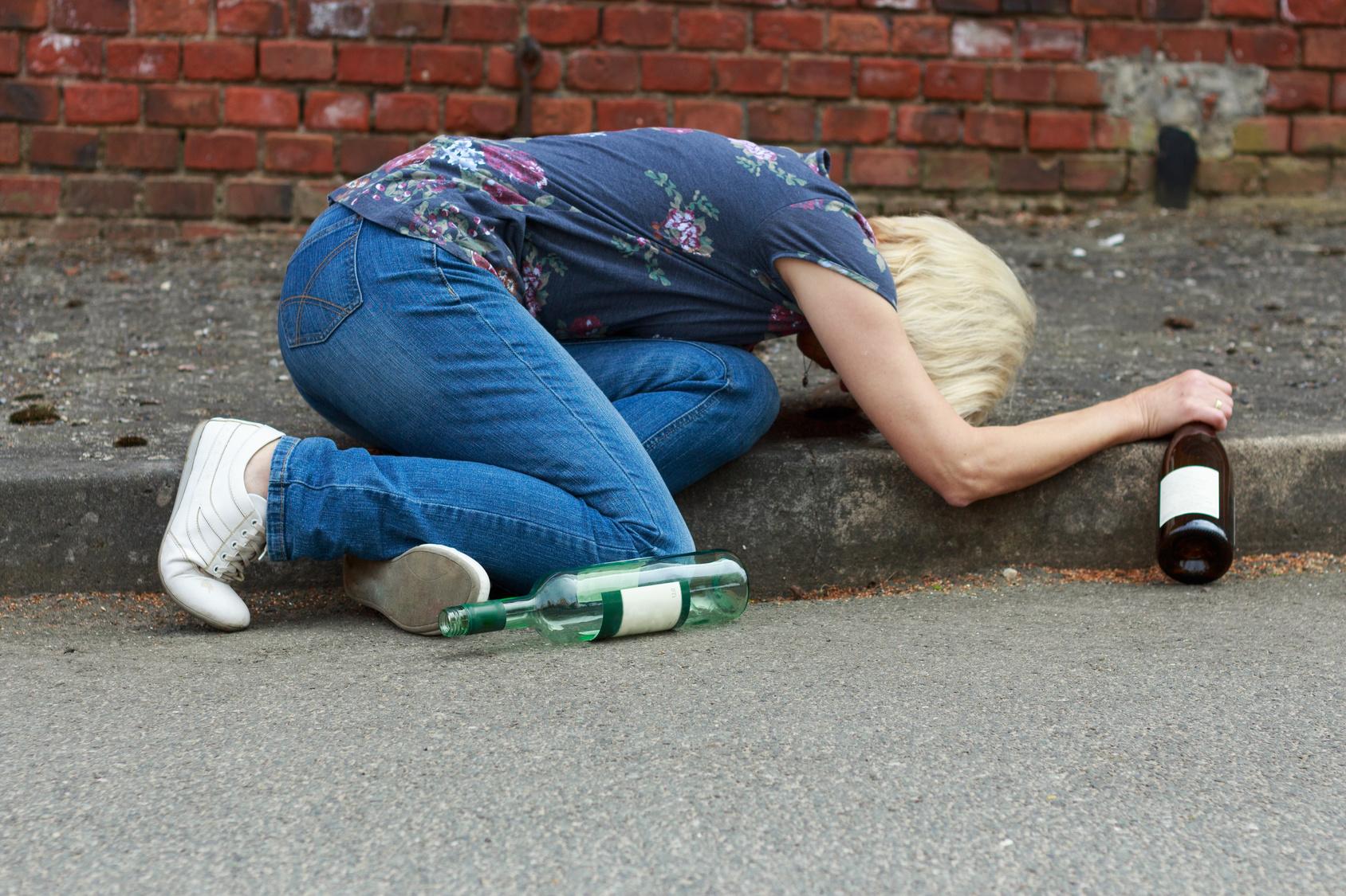 Бессознательное состояние при алкоголизме