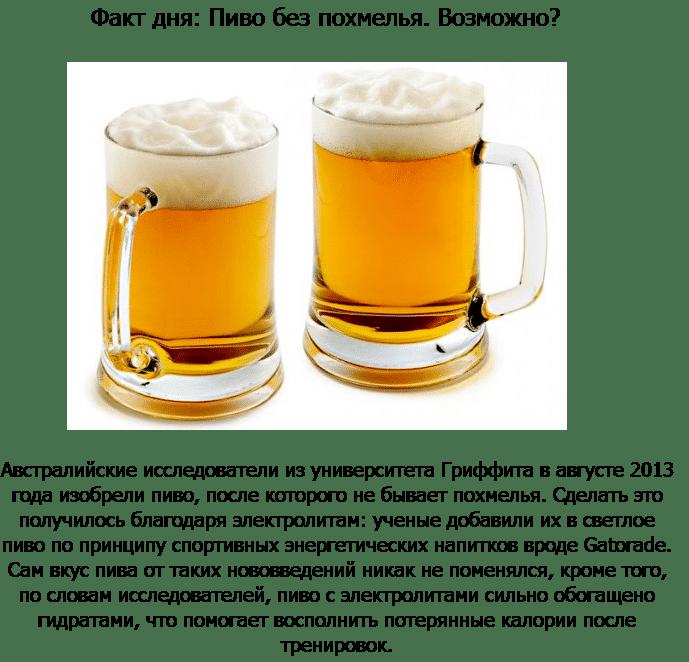 Пиво и головная боль
