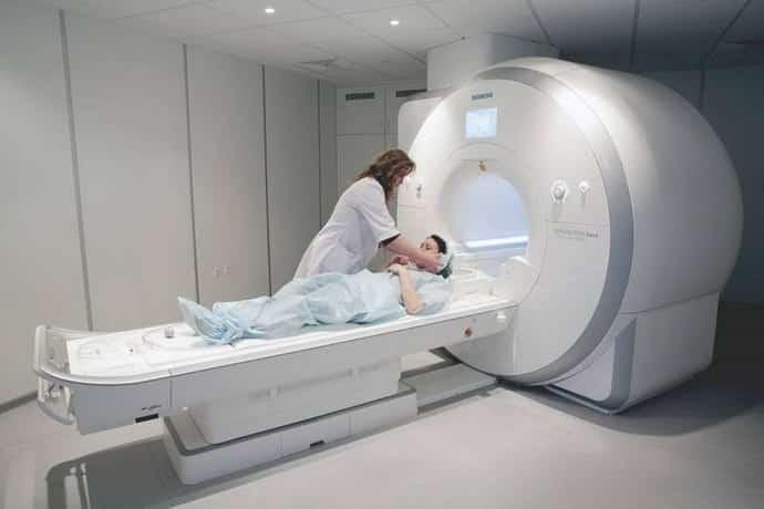 МРТ при восполнении троичного нерва