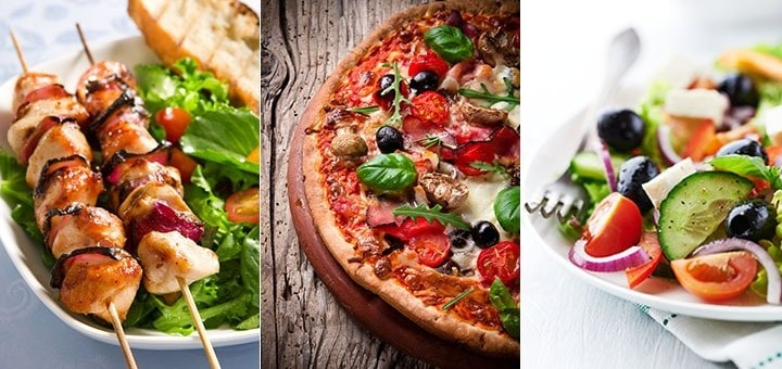 Шашлык и пицца при гв