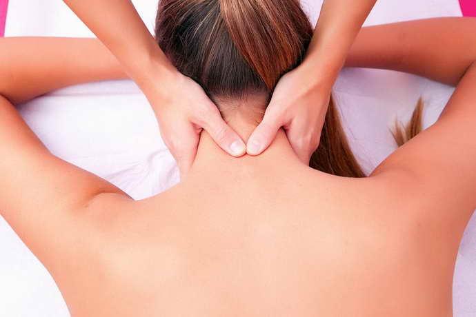 массаж при онемении лица при шейном остеохондрозе