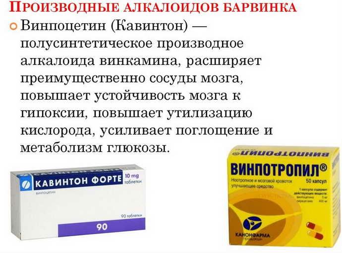 Лекарства на основе растительных ингредиентов