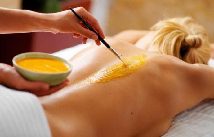 медовый массаж при грыже