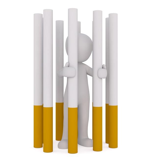 Тюрьма из сигарет
