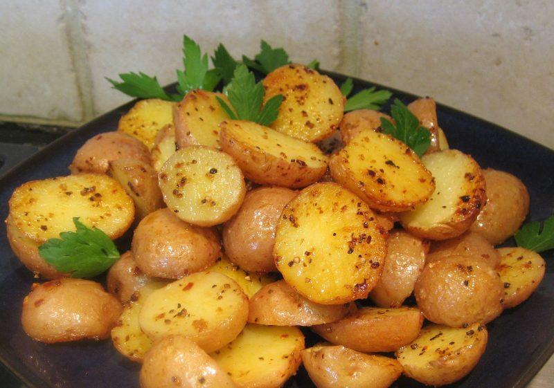 Запеченная картошка при гв