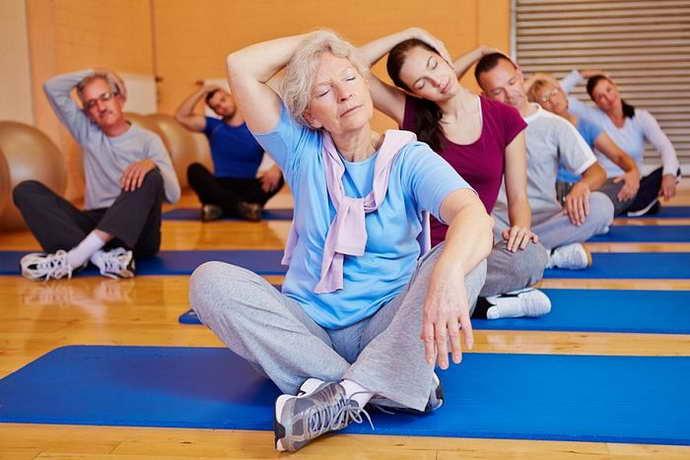 Упражнения при рассеянном склерозе