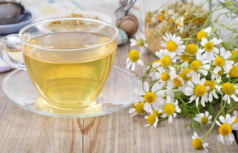 Ромашковый чай для кормящей мамы