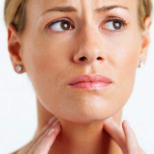 Ком в горле при щитовидке