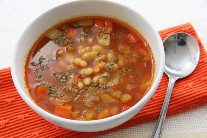 Фасолевый суп при гв