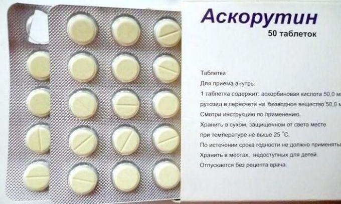 Аскорутин для лечения геморроя во время лактации