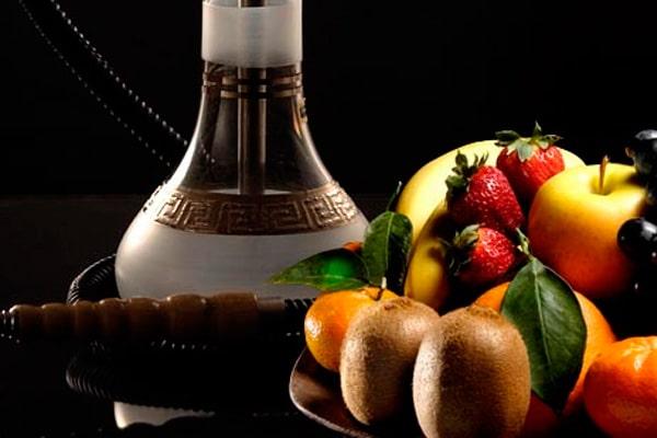 Кальян и фрукты