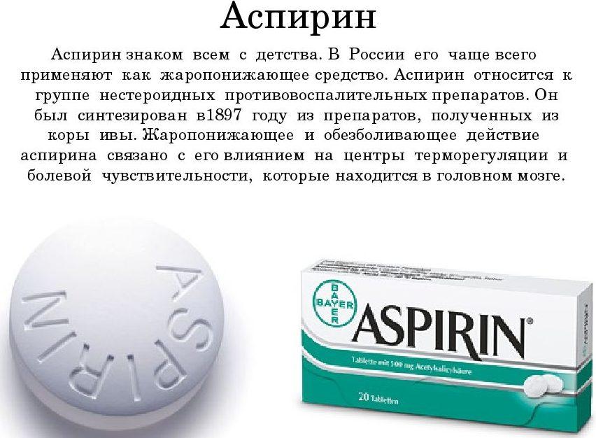 Аспирин при мигрени