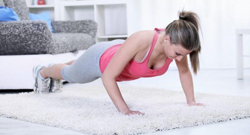 Упражнения для укрепления мышц груди