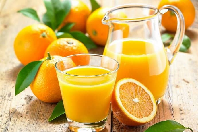 Апельсиновый сок при всд