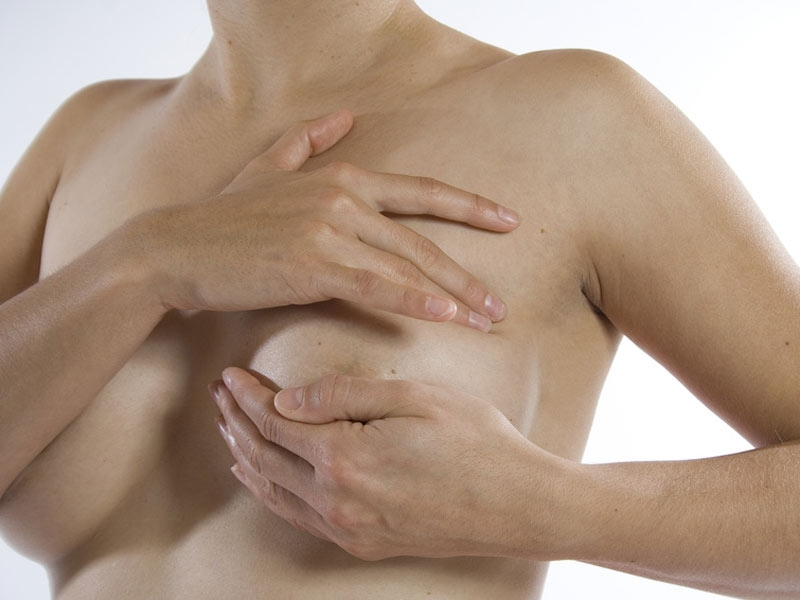 Как восстановить грудь после кормления