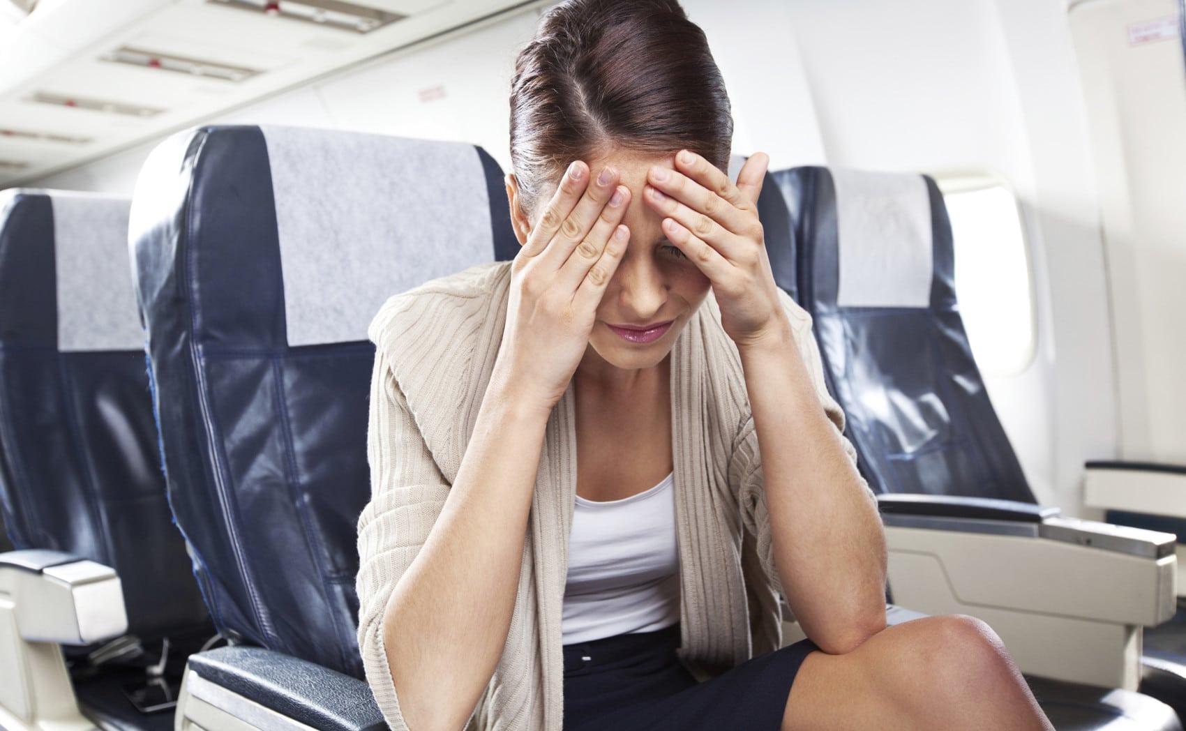 Болит голова после перелета