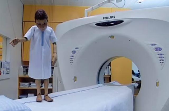Процесс проведение томографии