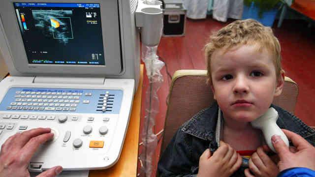 обследование щитовидной железы у детей