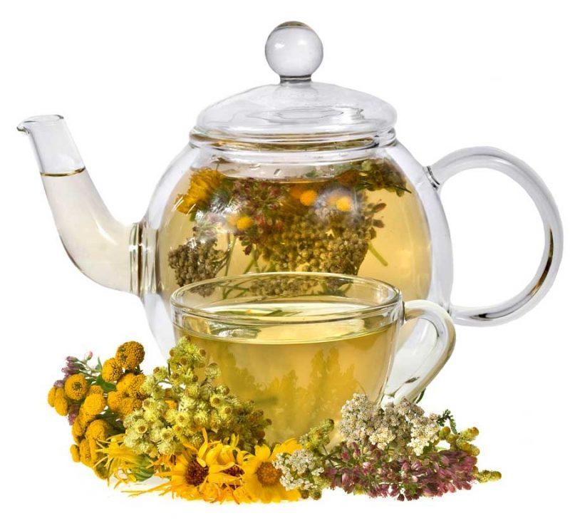 Травяной чай при гв