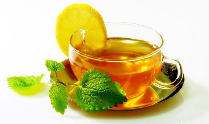 Мятный чай при всд