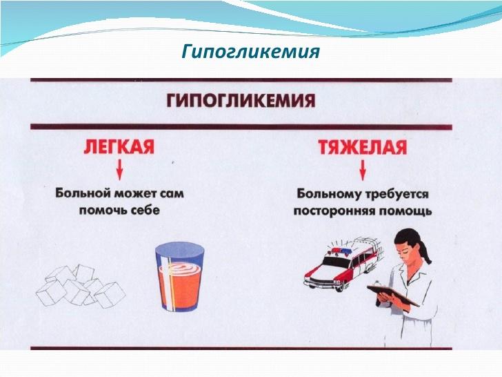 последствия гипогликемии