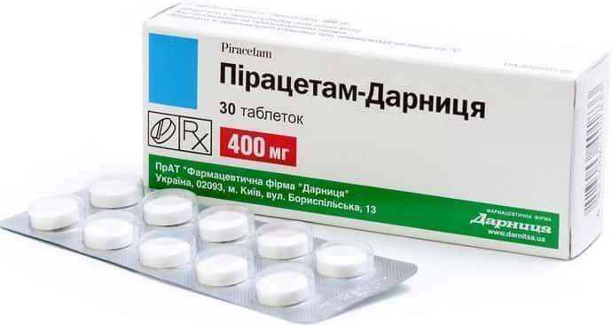 Пирацетам при синдроме позвоночной артерии