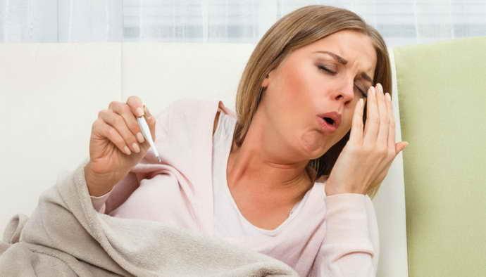Как долго может держаться температура после травмы