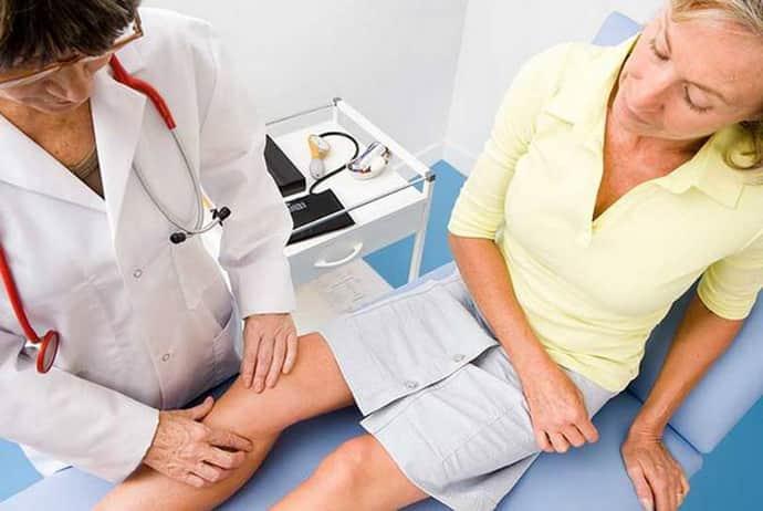 Почему немеет нога от бедра до колена