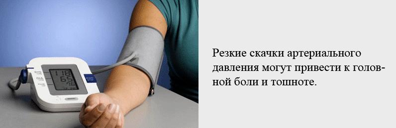 Болит голова и тошнит при гипертонии