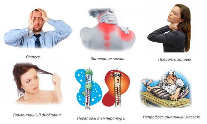 обострение шейного остеохондроза причины